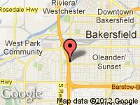 Map of SUPERIOR USED CARS at 401 oak st, Bakersfield, CA 93304