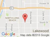 Map of S&J AUTO at 2709 South St, Long Beach, CA 90805