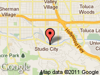 Map of TRANS ATLANTIC MOTORS at 11601 VENTURA BLVD, Studio City, CA 91604