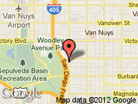 Map of SPORTS TREND at 5901 Sepulveda Blvd, Sherman Oaks, CA 91411