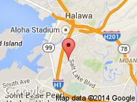 Map of A-1 Auto Sales LLC at 4299 Lawehana Street, Honolulu, HI 96818