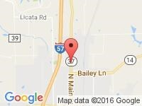 Map of JAMERSON AUTO SALES INC. at 1512 N. MAIN STREET, Benton, IL 62812