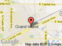 Map of Grand Island North at 204 E. 2nd, Grand Island, NE 68801
