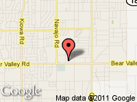 Map of ACCESS AUTO SALES at 21960 Bear Valley Rd., Apple Valley, CA 92308