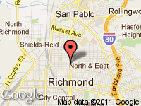 Map of RIGO'S AUTO SALES at 871 23RD STREET, Richmond, CA 94804