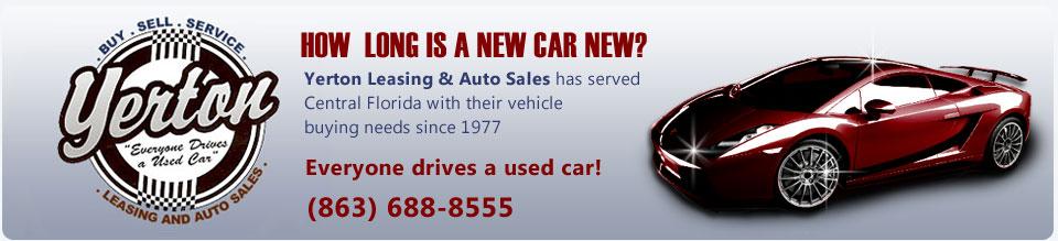 Used Cars Lakeland Fl Car Dealer Yerton Leasing Auto Sales