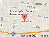 Map of BEVERLY HILLS UNIQUE SPORTS CARS at 1416 S LA BREA AVE, Los Angeles, CA 90019