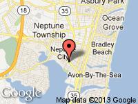 Map of MICHAELS MOTORCARS, INC. at 51 West Sylvania Avenue, Neptune City, NJ 07753