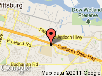 Map of CONTRA COSTA COUNTY PUBLI at 2691 E Leland Rd, Pittsburg, CA 94565-2812