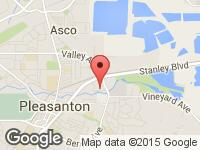 Map of JAY'S AUTO CENTER at 3597 Nevada St Suite C, Pleasanton, CA 94566