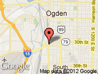 Map of A Lot of Cars at 3064 Wall Ave., Ogden, UT 84401