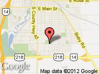 Map of McCabe Motors at 425 18th St SE, Owatonna, MN 55060