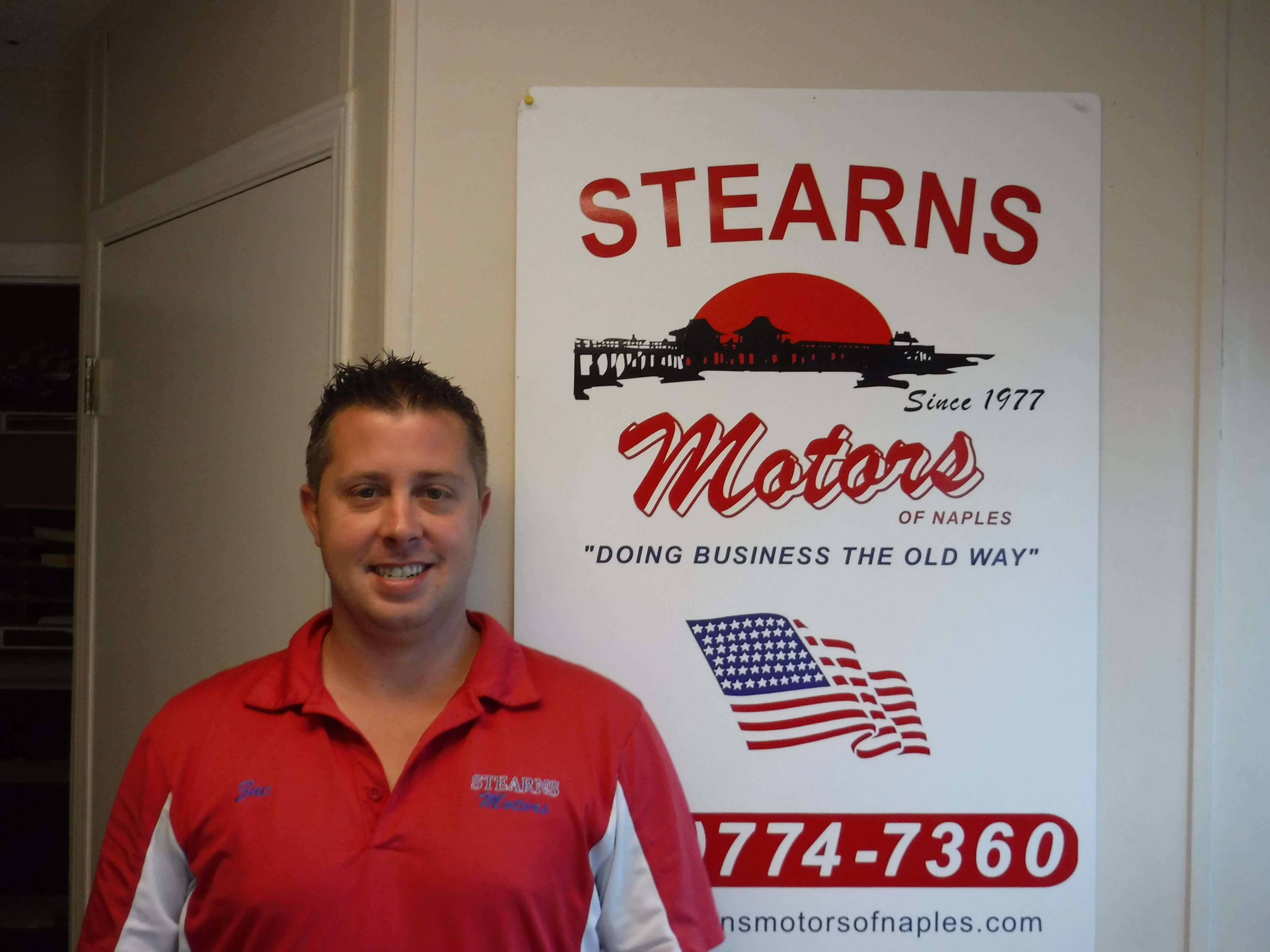 STEARNS MOTORS OF NAPLES | Meet the Staff