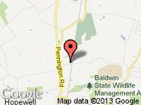 Map of Interstate Motorsport at 109 TITUS MILL ROAD, Pennington, NJ 08534