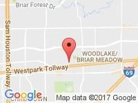 Map of Motors On Wheels at 3909 Waldo St,, Houston, TX 77063