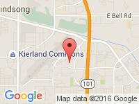 Map of Arizona Vehicle Managment at 14885 N. 83rd Place, Scottsdale, AZ 85260