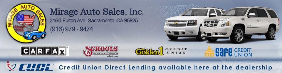 Get Pre Qualitifed | Mirage Auto Sales