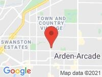 Map of Mirage Auto Sales at 2100 Fulton Avenue, Sacramento, CA 95825