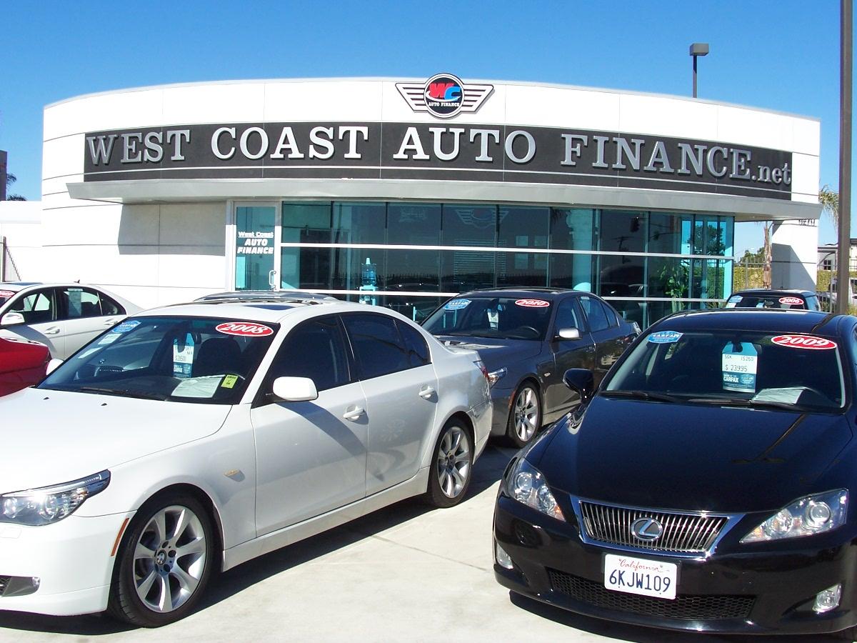 West Coast Auto >> West Coast Auto Finance