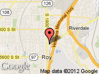 Map of U-Save Auto Sales at 1832 W Riverdale Road, Roy, UT 84067