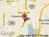 Map of Sea-Auto Sales at 22918 Highway 99, Edmonds, WA 98026