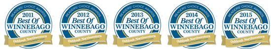 Best of Winnebago County for Auto Sales and Service in 2015