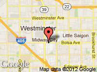 Map of Deluxe Auto Dealer, LLC at 8122 Bolsa Ave, Midway City, CA 92655