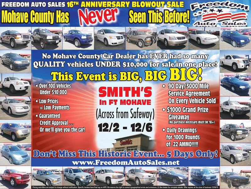 freedom auto sales largest quality used car dealerships year end blowout sale. Black Bedroom Furniture Sets. Home Design Ideas