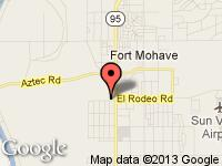 Map of Fort Mohave, Bullhead City Used Car Dealers at 5005 Hwy 95 S, Fort Mohave, AZ 86426