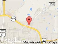 Map of Morrell Auto Group at 2845 NE Loop 286, Paris, TX 75460