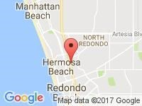 Map of Jama Auto House at 700 Pacific Coast Highway, Hermosa Beach, CA 90254