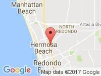 Map of Jama Auto House at 700 Pacific Coast Highway, Hermosa Beach, CA 90254