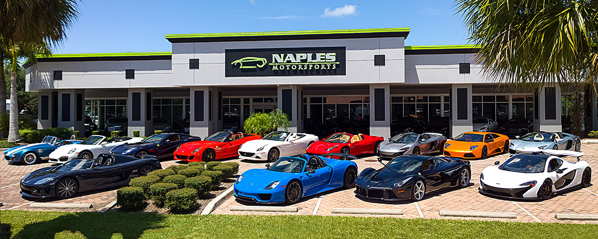 Naples motorsports inc exotic cars naples fl exotic for Motor vehicle naples fl