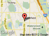 Map of Steven Todd Leasing at 211 Waukegan #102, Northfield, IL 60093