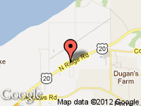 Map of Expo Auto Group at 3292 N. Ridge Rd., Perry, OH 44081