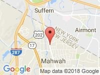 Map of Mahwah at 161 Franklin Turnpike, Mahwah, NJ 07430