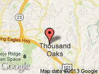 Map of AutoFinders, Inc at 61 N Oakview Drive, Thousand Oaks, CA 91362