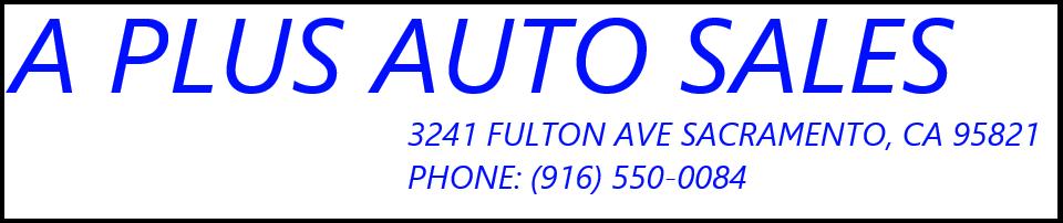 A Plus Auto Sales