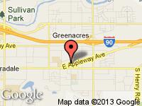 Map of LaBrosse Auto Sales at 17815 E APPLEWAY, Spokane Valley, WA 99016