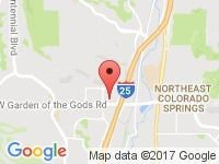 Map of Smart Choice Auto at 4575 Hilton Parkway, Colorado Springs, CO 80907