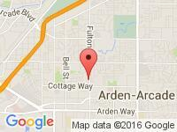 Map of Car Expo Auto at 2211 Fulton Ave., Sacramento, CA 95825