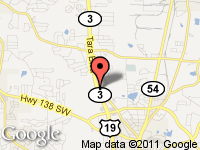 Map of Cars and Credit Assistance at 7710 Tara Blvd, Jonesboro, GA 30236