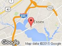 Map of Snyders Used Cars at 41 Eastern Blvd, Essex, MD 21221