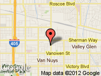 Map of Super Select at 7027 Van Nuys Blvd., Van Nuys, CA 91405