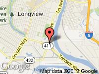 Map of Parr's Cars at 726 3rd Ave, Longview, WA 98632