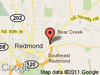 Map of Championship Motors at 8210 Avondale Way NE, Redmond, WA 98052