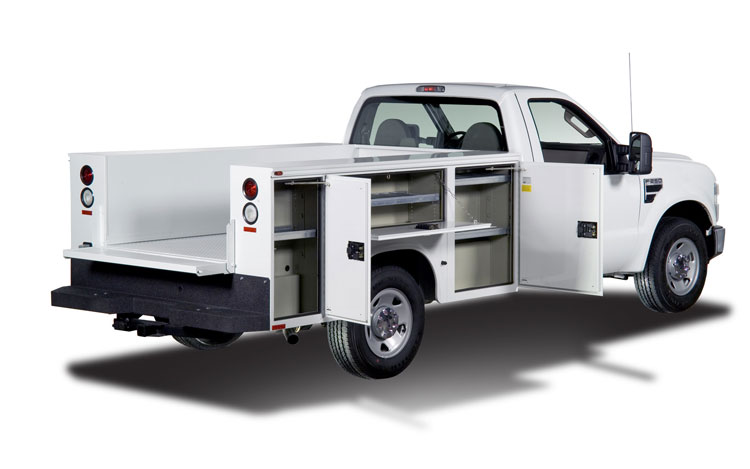 Image result for utility body truck