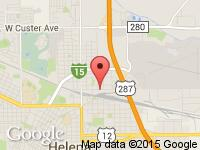 Map of J&D Auto sales at 1645 N Montana Ave, Helena, MT 59601