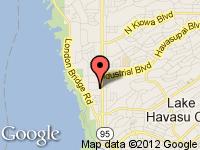 Map of JR Motors at 1620 Countryshire Ave, Lake Havasu City, AZ 86403