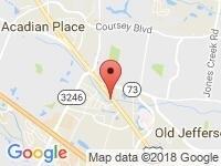 Map of Acadian Used Cars at 11917  Florida Blvd, Baton Rouge, LA 70815